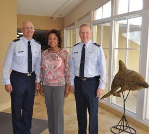Lieutenant Governor Jennifer Carroll