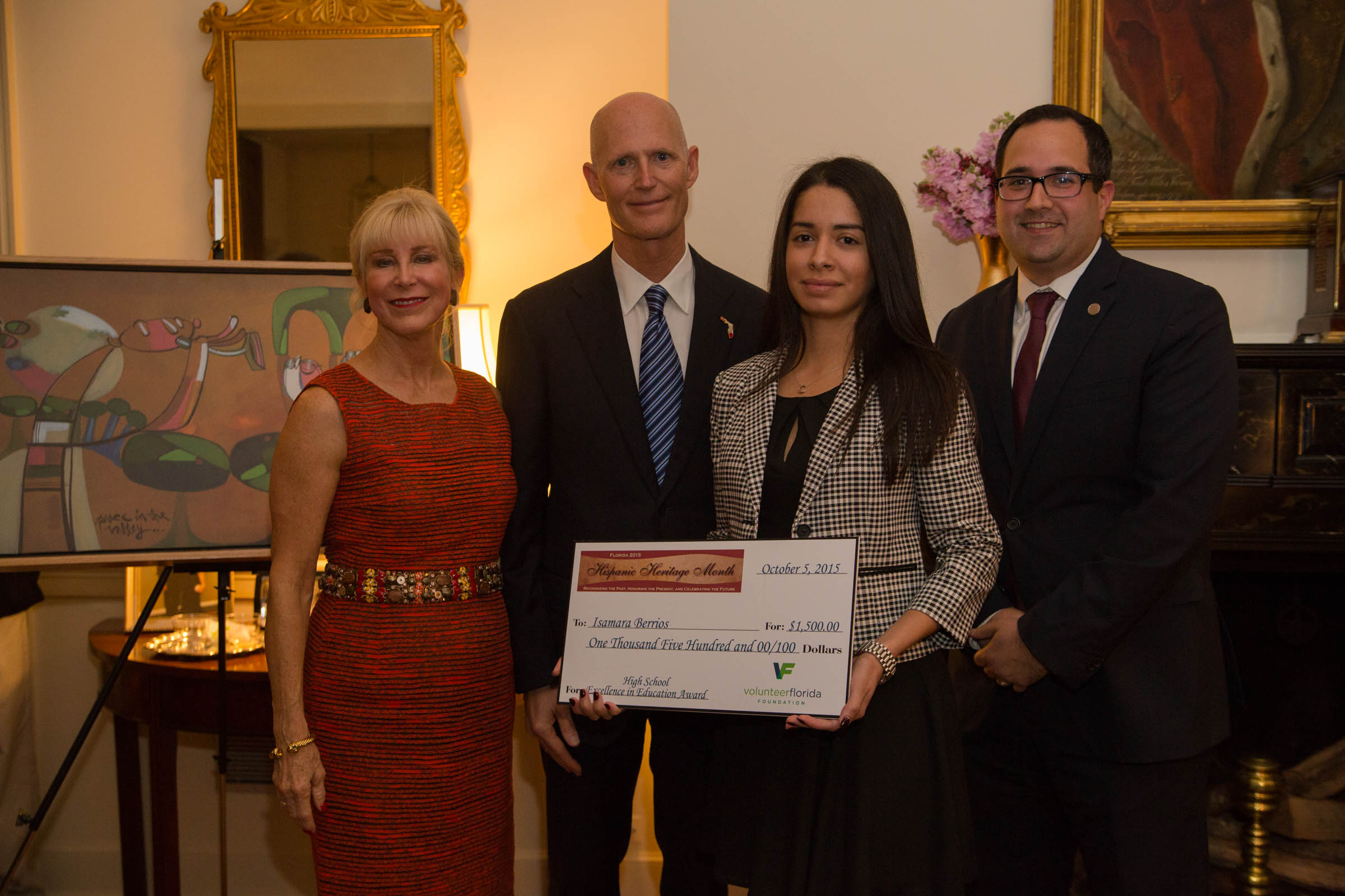 governor scott and first lady ann scott announce hispanic  governor scott and first lady ann scott announce 2015 hispanic heritage month student and teacher contest winners