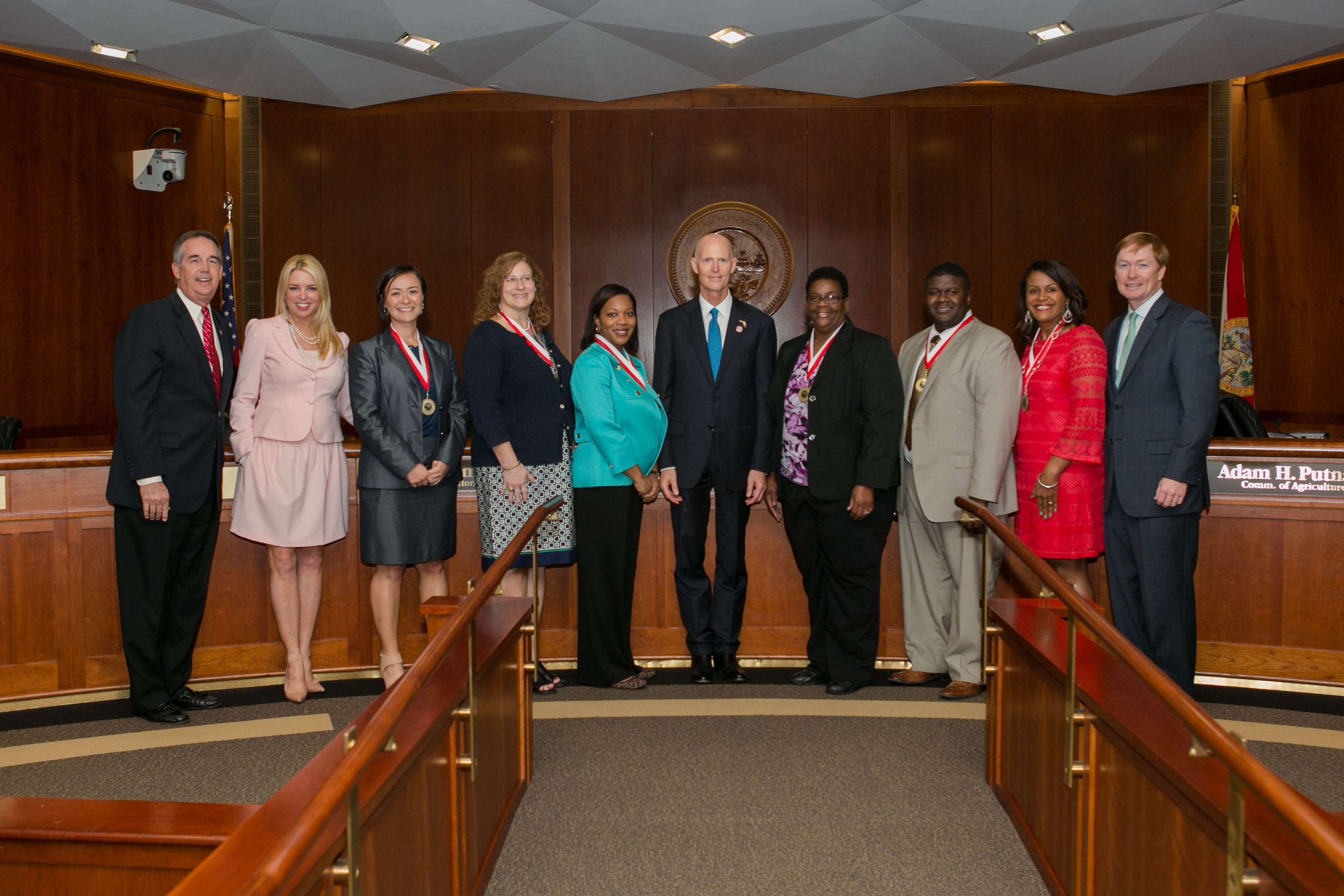 Certification Course Notary Template Simple Contract Agreement, Governor  Scott Presents Shine Awards To Six Outstanding Florida Educators
