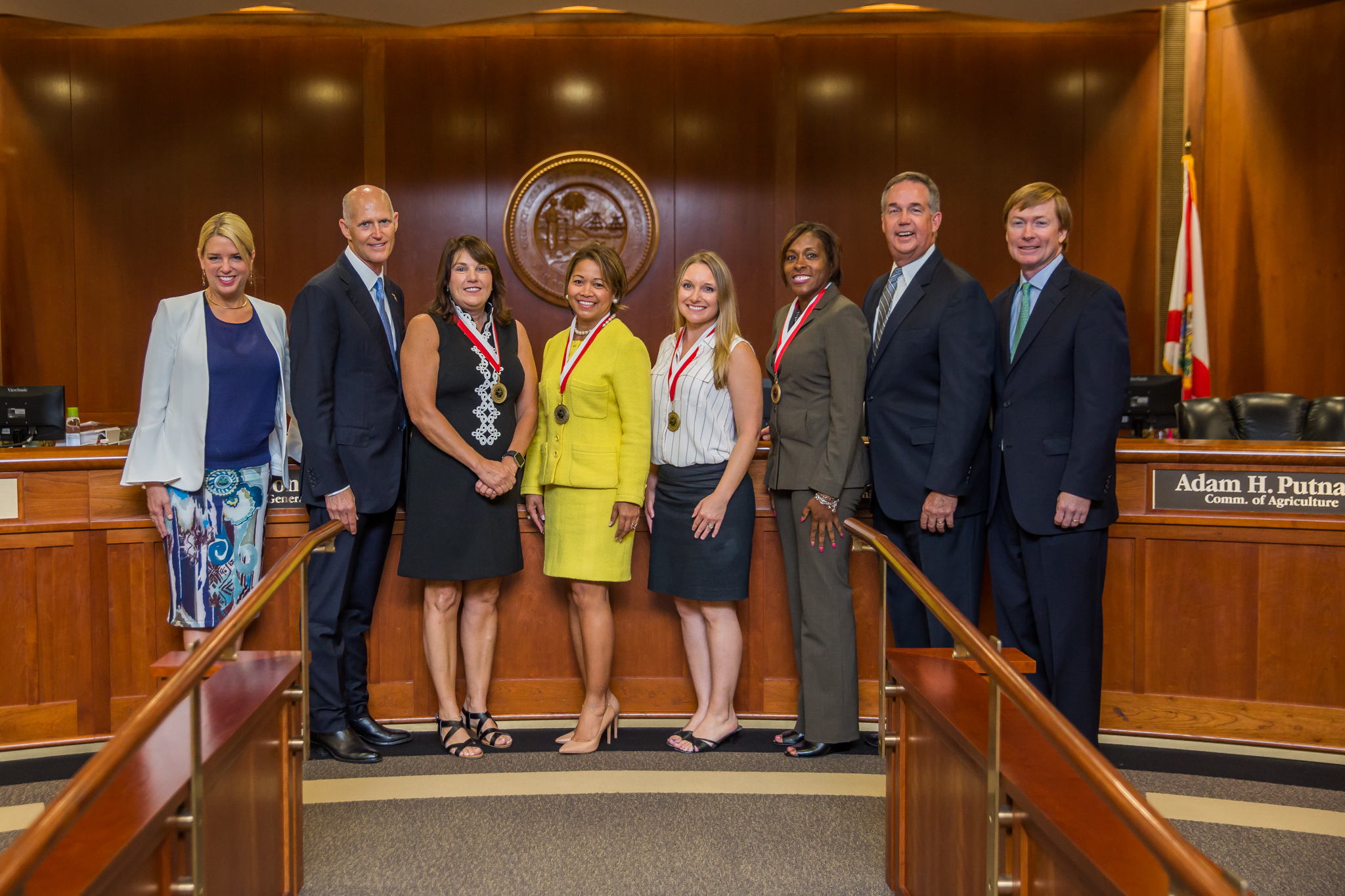 Today, During A Meeting Of The Florida Cabinet, Governor Rick Scott  Recognized Four Outstanding Educators With The Governoru0027s Shine Award.