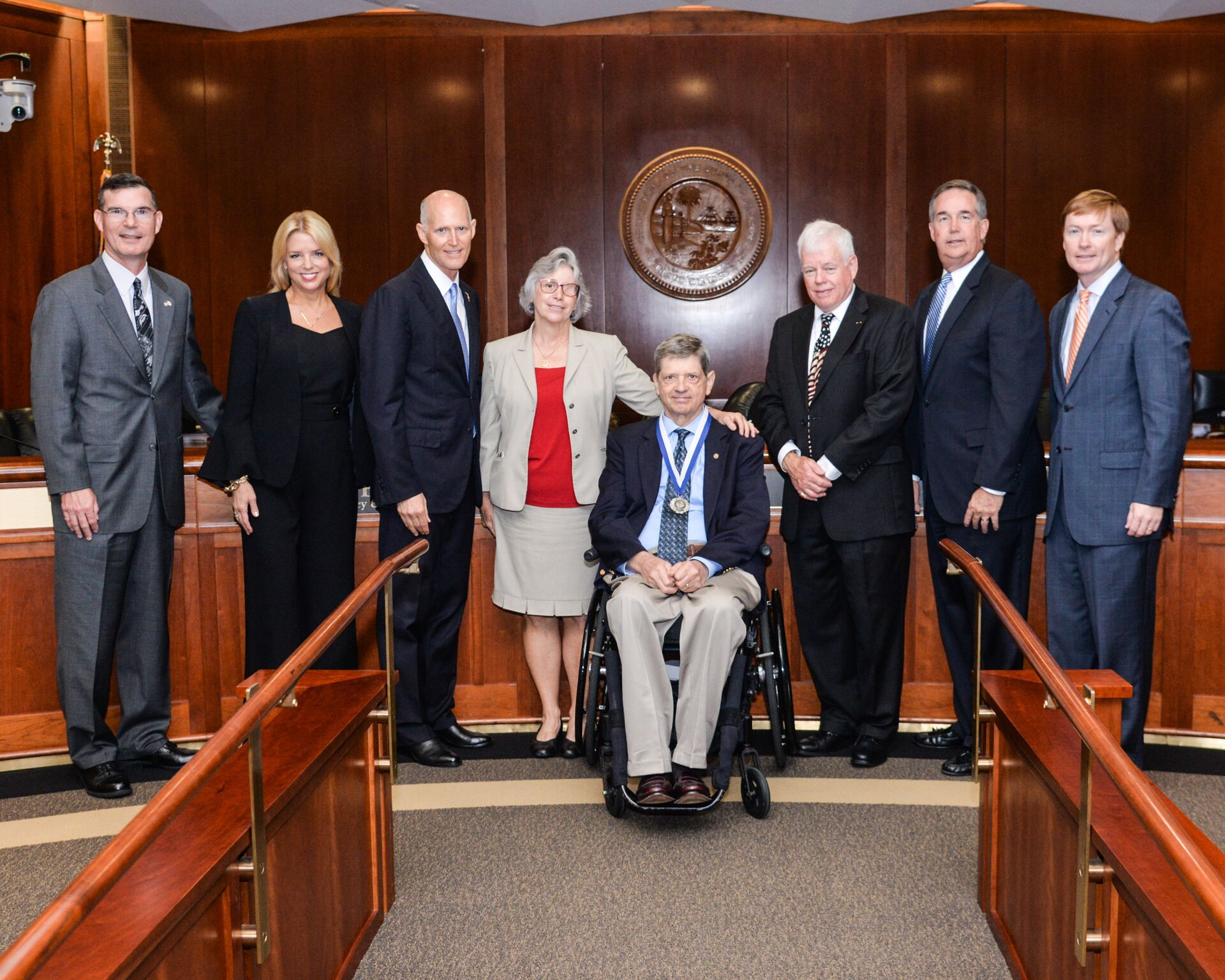 Today, During A Meeting Of The Florida Cabinet, Governor Rick Scott  Recognized George Bennett (Ben) Ritter With The Governoru0027s Medal Of Merit.