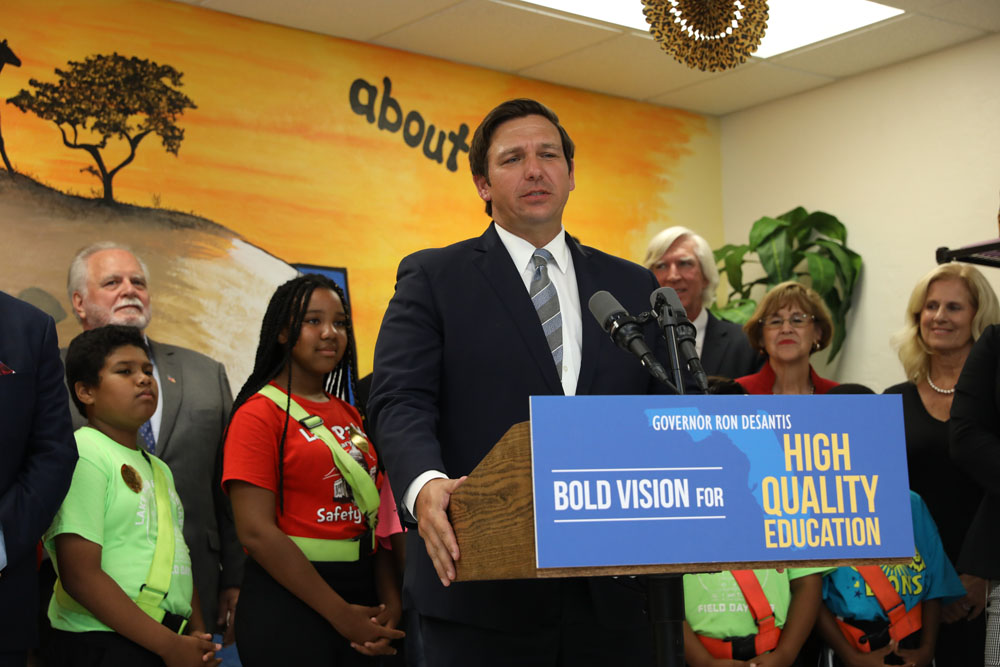 Best And Brightest Scholarship 2020 Governor Ron DeSantis Highlights Revised Best and Brightest