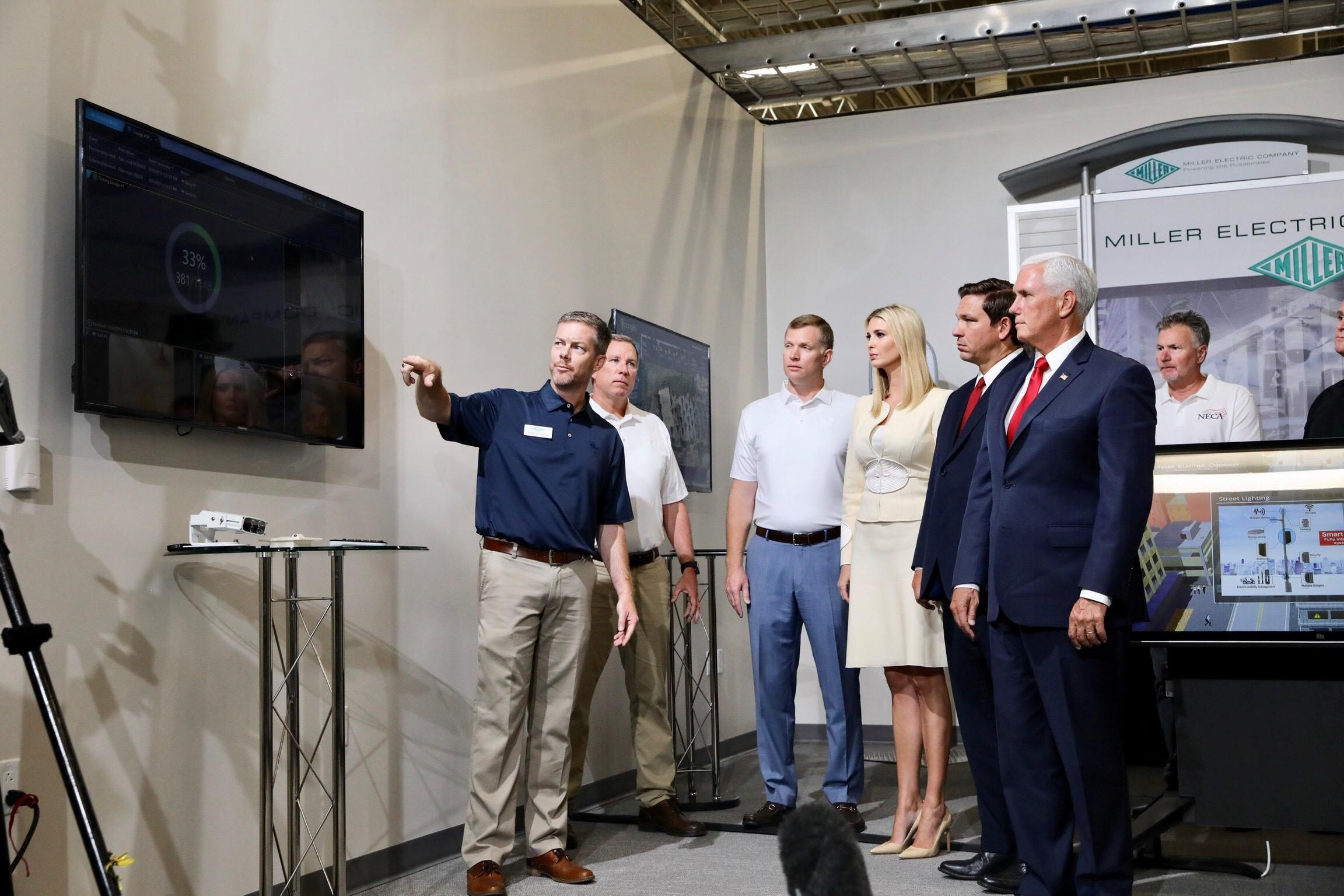 Governor Ron DeSantis Joins Vice President Pence and Ivanka