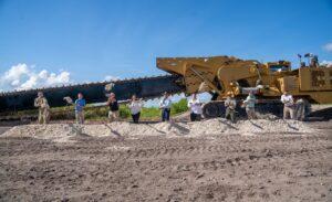Governor Ron DeSantis Celebrates Groundbreaking of Underground Wall to Support Everglades Restoration