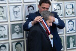 Governor Ron DeSantis Awards Felix Rodríguez with Governor's Medal of Freedom
