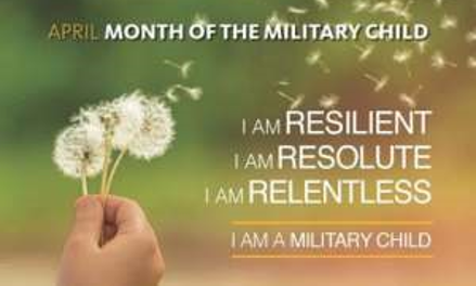 Month of the Military Child Banner