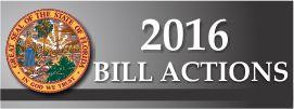 2016 Bill Actions